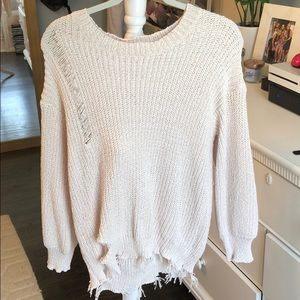 Fantastic fawn size medium sweater
